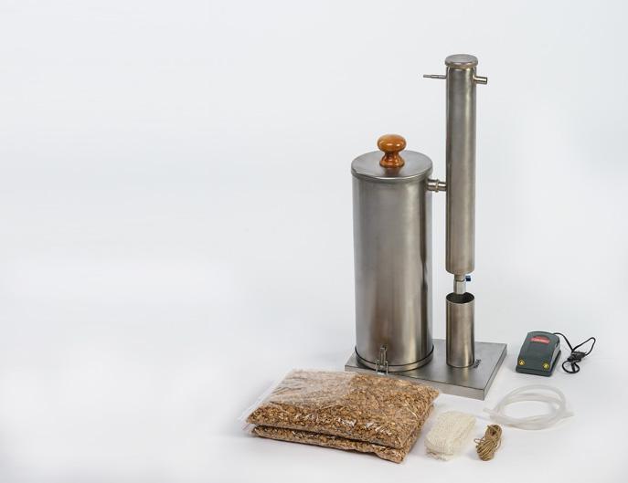 Стандартная комплектация дымогенератора Ханхи 2